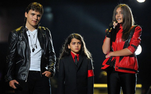 Michael Jacksons children will remember their father 08.16.2011