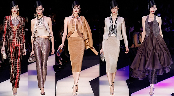 Friday frock up goes armani prive spring couture 2013 for What s a couture pop